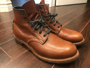 Red Wing boots  Men's Beckman  No. 9016 - cigar, size 10 / 44