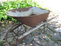 Beautiful Old Wheel Barrow - Yarker area