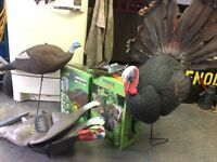 Turkey hunting decoy combo ...