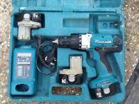 Makita MXT cordless drill driver combi