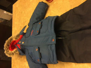 Perfect condition Carters 12M snow suit
