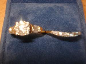 Diamond Engagement & Wedding Rings, 1.09 Carat Centre Diamond