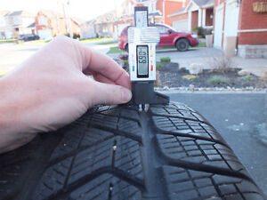 Pirelli Scorpion winter tires 225/55/R19 99H (almost new) Peterborough Peterborough Area image 7