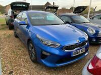 2018 Kia Ceed 1.4 BLUE EDITION ISG 5d 139 BHP Hatchback Petrol Manual