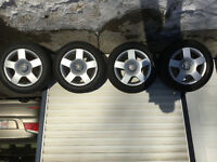 Audi tires and rims