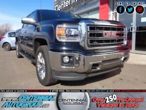GMC Sierra 1500 SLT | 4x4 | Crew Cab Box | Leather | Tonneau Cov