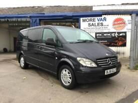 2007 1 owner Mercedes-Benz Vito 2.1TD Long Traveliner 111CDI minibus export??