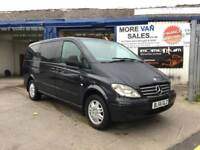 Black Friday sales 2007 1 owner Mercedes Vito 2.1TD Long Traveliner 111CDI bus
