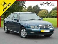 2000 Rover 75 2.0 CLASSIC SE 4d 148 BHP Saloon Petrol Manual