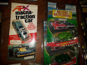 AFX MAGNA-TRACTION WHITE AND BLUE MERCURY - BEST OFFER OVER $100