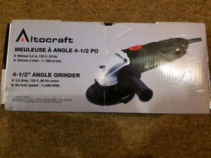 Brand new - angle grinder 4.5in -meuleuse a angle