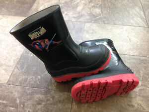 Spider-Man Rubber Boots Size 8T