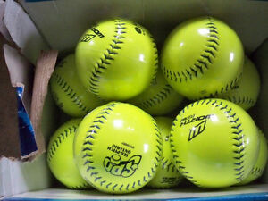 SLOW PITCH BAESBALL'S WORTH 12'' NEW IN PKG.10 IN TOTAL Stratford Kitchener Area image 1