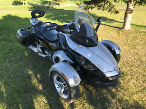 Can-Am Spyder Gris 2008
