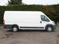 2015 (65)PEUGEOT BOXER 435 HEAVY PROFESSIONAL L4H2 EXTRA LWB HIGH ROOF PANELVAN