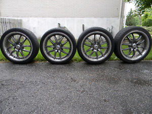 17'' Mags and tires