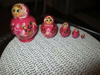 Russian Nesting Dolls - 2nd set