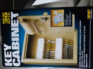 Key cabinet x2  new in box with 30 tags