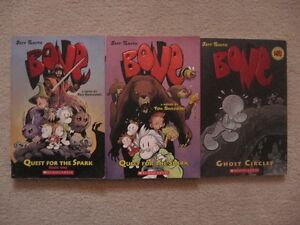 Bone By Jeff Smith Books 1,2 And 7