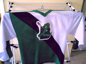 Burnaby Lakers Vintage Lacrosse Club Jersey Old Crest