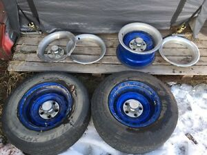 Square Body Ralley wheels