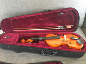 Kids violin 1/4 size