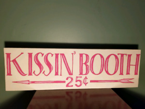 Double Sided Vintage Style Holiday Sign