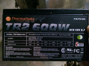 600 watt power supply