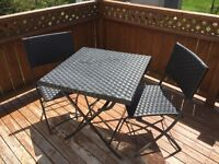Bistro Set (2 Chairs, 1 Table)
