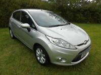 2010 10 FORD FIESTA 1.25 ZETEC 5 DOOR