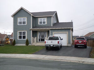 Fully developed 2 storey with 2 garages