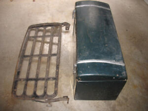 Vintage Car Trunk and Rack