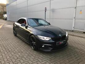 2014 BMW 428i Auto M Sport Convertible+ M4 Styel Styling+ RED Leather + BIG Spec