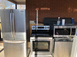 Stainless appliances for sale