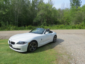 BMW  Z4  ROADSTER BLANCHE CONVERTIBLE