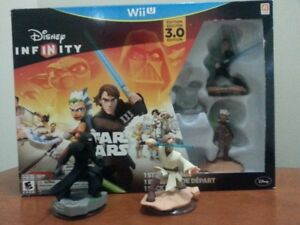 Wii Disney Infinity Star Wars with additional game charaters
