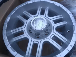 4 mag wheels 18'' 6x135mm center hole 87mm (ford)