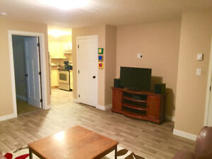 FULLY FURNISHED 1 Bedroom basement suite available in East Regin