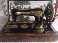 Rare Vintage Singer sewing machine