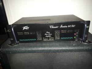 Peavey Classic 60/60 (60 watts stereo power amp)