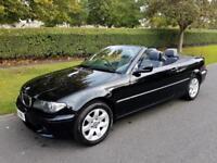 BMW 318i (2.0) Ci (SE) - 2DR - CONVERTIBLE - 2003 - BLACK