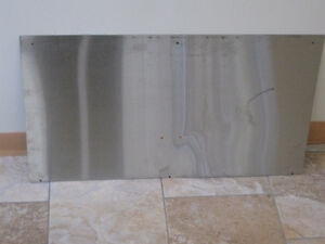 NEW STAINLESS STEEL COMMERCIAL BACK SPLASH  #1