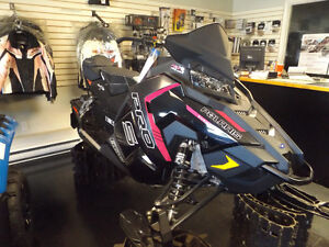 2016 Axys 600 rush Pink Ribbon Rider Edition