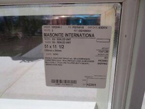 New Masonite Sealed unit Transom Window