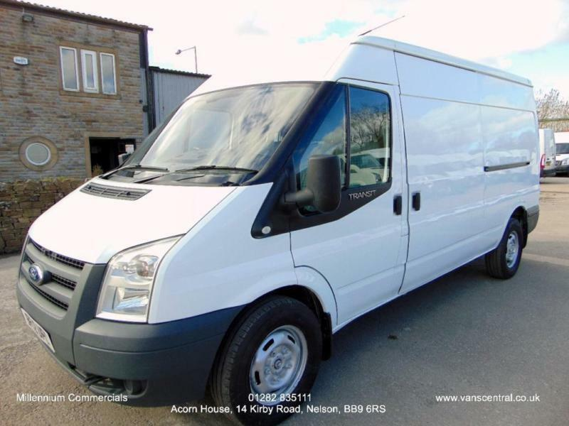 2012 12-REG FORD TRANSIT LWB, MEDIUM HIGH ROOF, ONE OWNER FROM NEW, FULL HISTORY