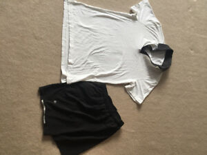 Reduced:Two piece lululemon active shirt and shorts