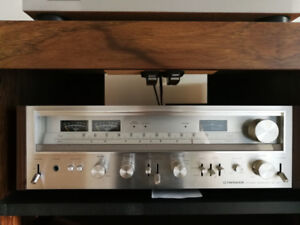 MINT Pioneer SX-780 Stereo Receiver in ORIGNAL BOX Manuals 1978