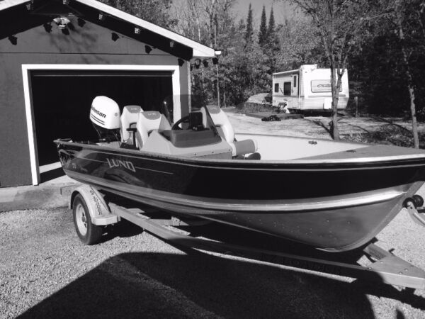 Used 2004 Lund Boat Co Lund 16 ft. Rebel SS Adventure Series