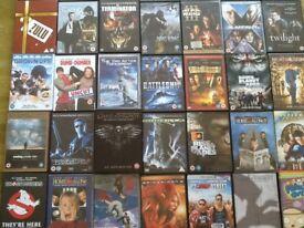 Bundle of 40 DVDs