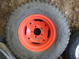 4 Tractor Tires like new